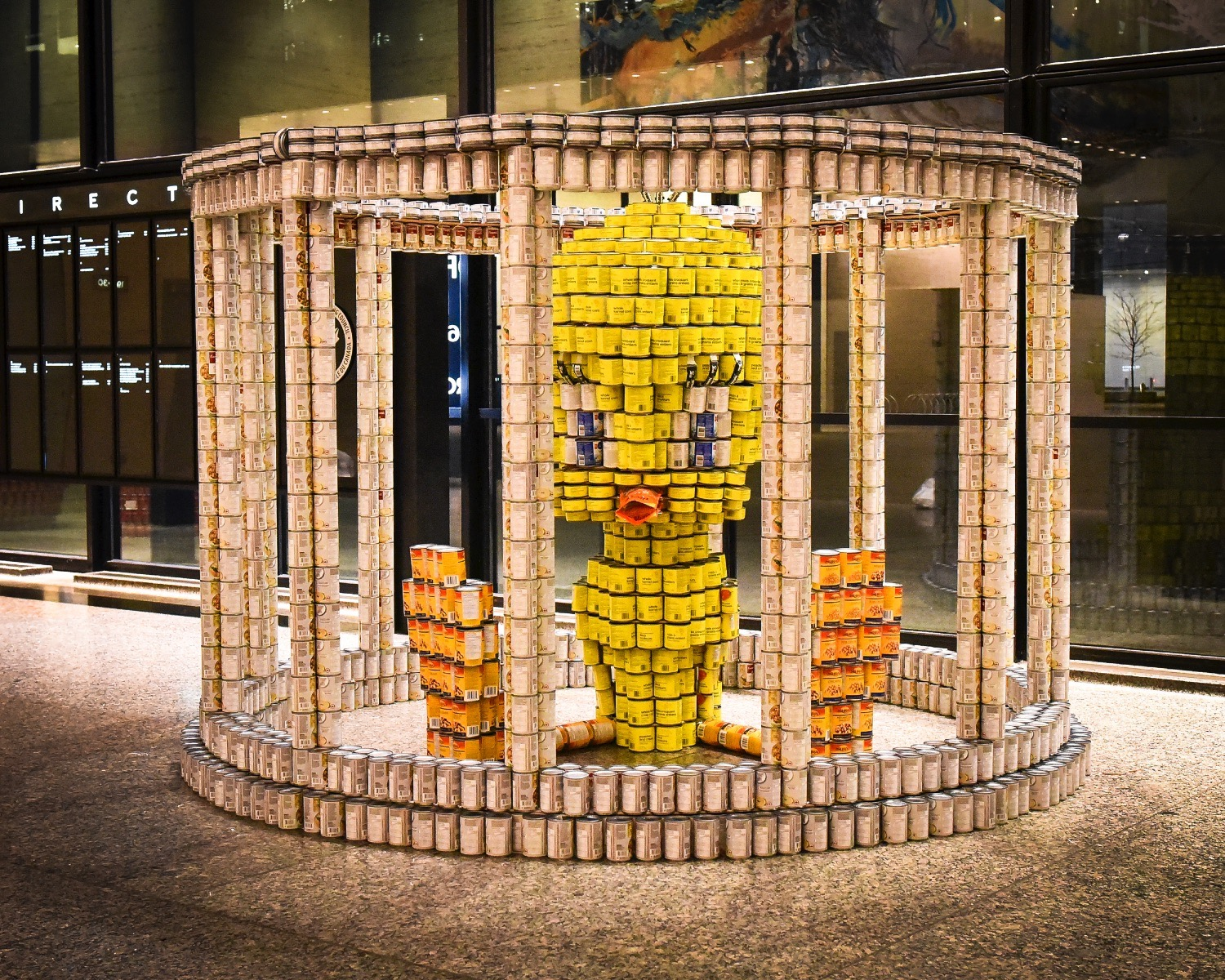 Canstruction Toronto cancels build; encourages donations to food bank