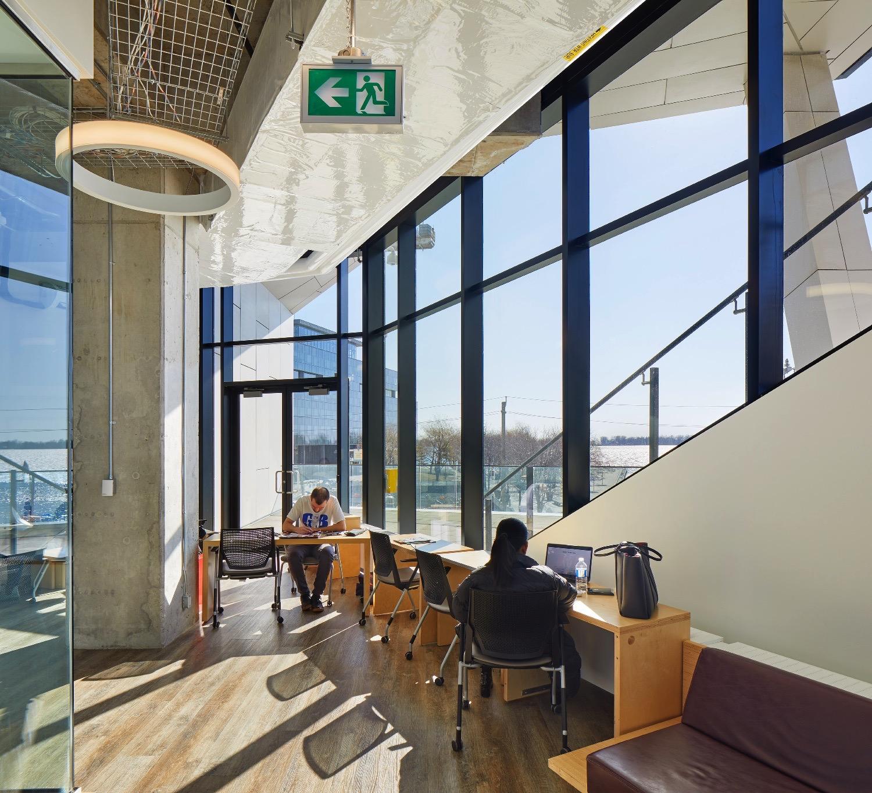 Student Lounge Canadian Architect